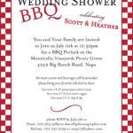 Printed Wedding Shower Invitation