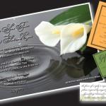 Printed Wedding Invitation