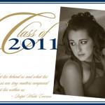 Printed Graduation Invitation
