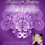 Printed Birthday Invitation