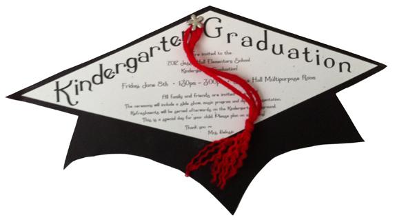 Kindergarten Graduation Invites Gilmore Graphix Inc