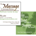 Massage Connection Business Card