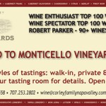 Image of Monticello Vineyard Ad
