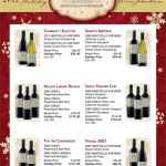Image of Monticello Vineyards Holiday Flyer