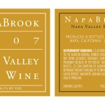 Napa Brook Wine Labels