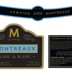 Monticello Vineyards Montreaux Label