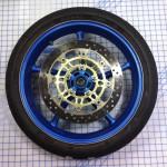 Motocycle Wheel Wrap Image