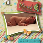 Image of Kensi's Birth Announcement