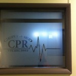 Certified CPR Sign Image