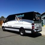 Image of Wrapped Paschall Plumbing Van